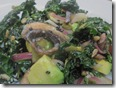 avocado and kale salad